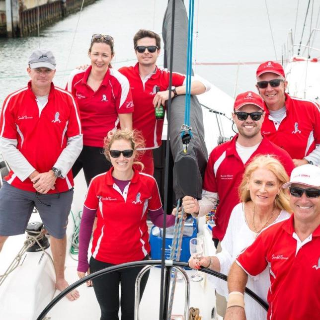 Scarlet Runner team win the Passage Race