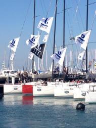 J/111 fleet at Geelong Festival of Sails