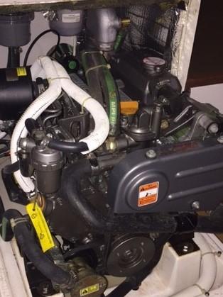 J/111 Horopito Yanmar engine