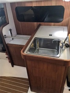 J/111 Horopito galley. Stove included but not shown.