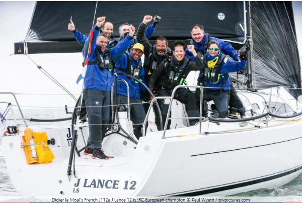 J112e JLance wins IRC European Championship