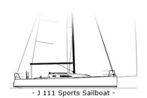 J111 Sports Sailboat