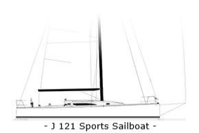 J121 Sports Sailboat