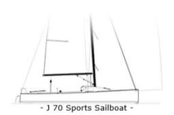 J70 Sports Sailboat