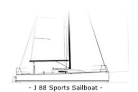J88 Sports Sailboat