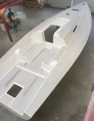 J/99 Deck ready for fitting