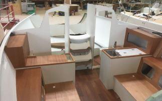 J/99 interior fitout